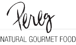 pereg natural gourmet food logo